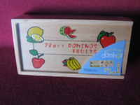 domino enfant fruits